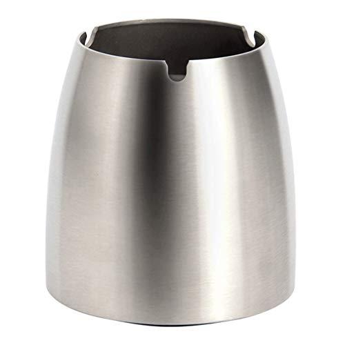 SHYPT Aschenbecher für den Außenbereich mit für Zigaretten, Wind- / Regenschutz-Aschenbecher aus Edelstahl für den Außenbereich