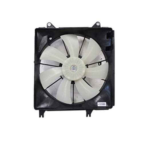 Engine Cooling Fan Assembly - Pacific Best Inc. Fit/For 1711163J00 07-13 Suzuki SX4 (Japan Built) 10-13 Manual Transmission Only 2-Pin Connector