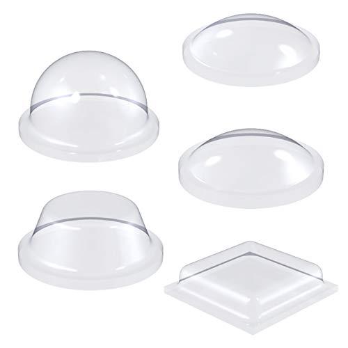 Elastikpuffer selbstklebend   Sortimentspack 5 kleine Modelle   Größenpack wählbar   Anschlagpuffer transparent   Gummifüße zum Kleben