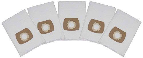 5 Premium Staubsaugerbeutel passend für ShopVac 20-30 L / 90661