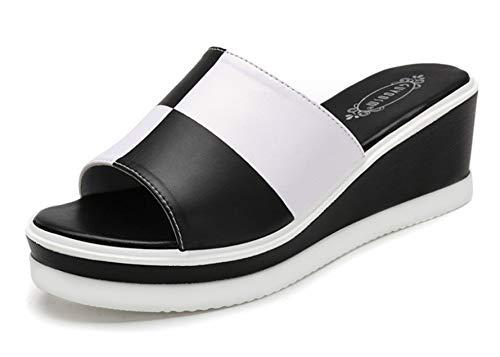 Peep Toe Tacon Ancho Correa De Tobillo Boda Zapatos,Zapatillas De Gran Tamaño...