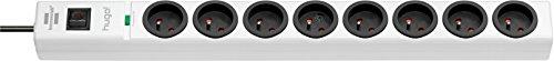 Hugo! Brennenstuhl Mehrfachsteckdose, mit 8Steckdosen, 2m Kabellänge, H05VV-F 3G1,5,mit Überspannungsschutz, 19,5 A, weiß, 1150611328
