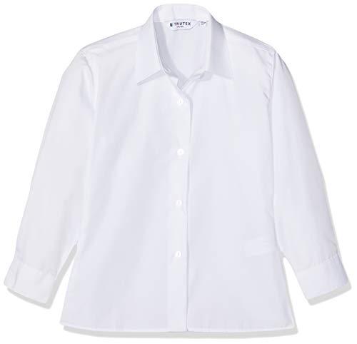 Trutex Mädchen Nkb Schuluniform-Oberteil, Weiß (White White), 9-10 Jahre (Herstellergröße: 28)