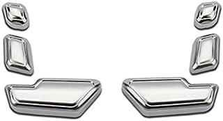 サテン シルバー  シートスライドスイッチカバー  メルセデス ベンツ  W176  A180 A250 A45 スポーツ シュポルト スタイルプラス 4マチック  Aクラス W117  C117  CLA180 CLA250 CLA45  C...