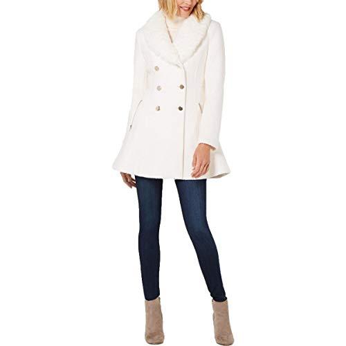 Guess Abrigo de Vestir de Mezcla de Lana para Invierno para Mujer