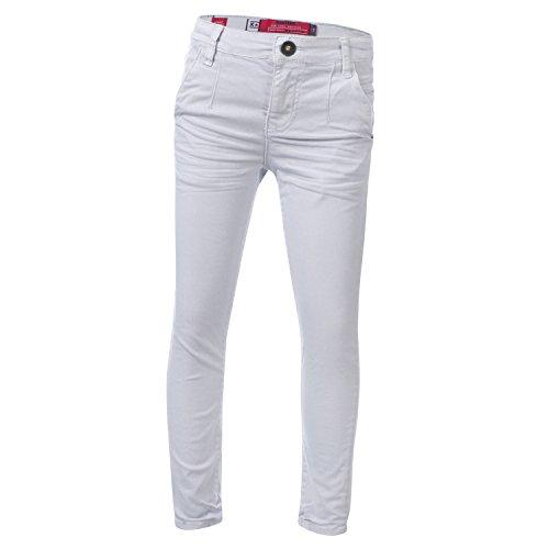 Blue Rebel | Mädchen Chino Stretch-Jeans Slim Fit - Pearl Größe 128