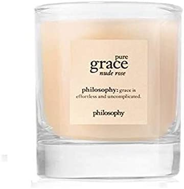 philosophy pure grace nude rose candle 2 oz product image