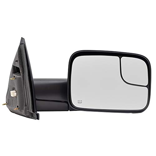 07 dodge ram heated tow mirror - 9