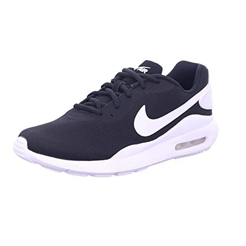 Nike Air MAX Oketo, Zapatillas Deportivas. Hombre, Negro Blanco, 44 EU