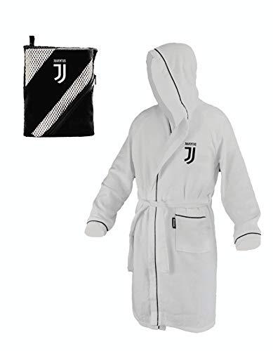 Juventus Accappatoio Microfibra Juve - Prodotto Ufficiale (8/10 Anni)