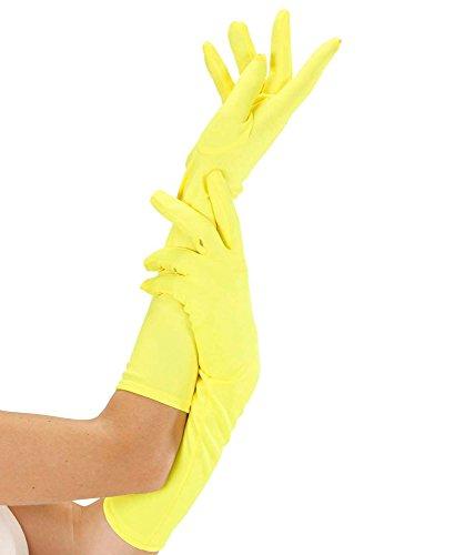 guanti gialli WIDMANN 9503Y?Guanti Lunghi Taglia Unica
