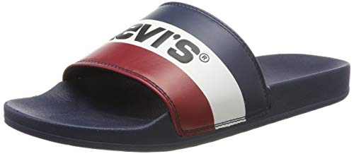 Levis Footwear and Accessories June Sportswear, Chanclas para Hombre, Azul (Royal Blue 19), 43 EU