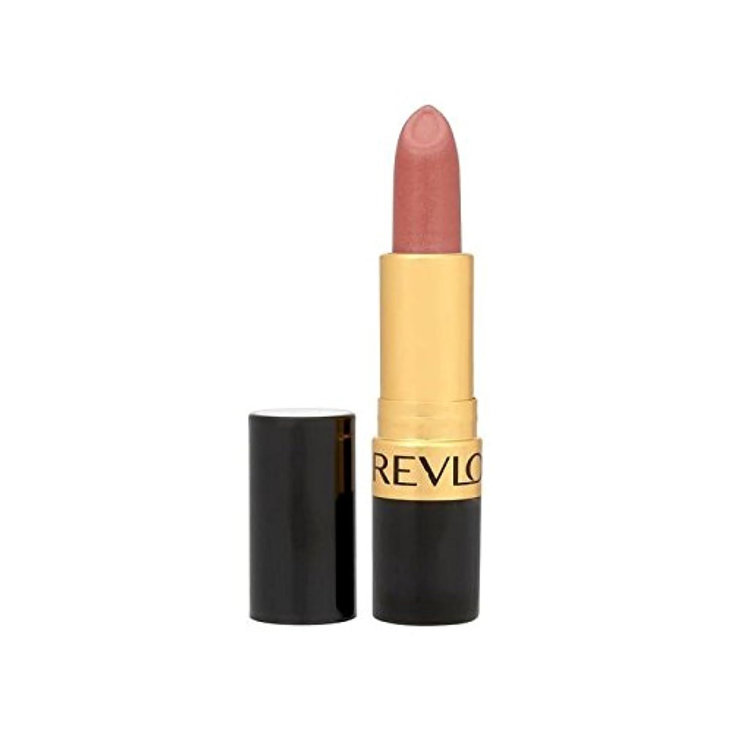 人物逮捕補償レブロンスーパー光沢のある口紅は420を赤らめ x4 - Revlon Super Lustrous Lipstick Blushed 420 (Pack of 4) [並行輸入品]