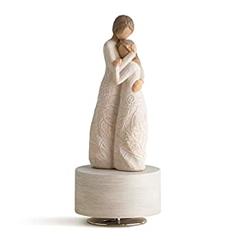 Willow Tree Close to me Musical Sculpted Hand-Painted Musical Figure