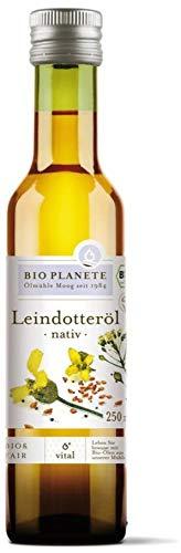 Bio Planete Bio Leindotteröl nativ (2 x 250 ml)