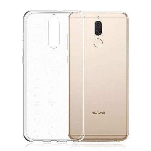 HINUOR Huawei Mate 10 Lite Hülle - Durchsichtig Handyhülle für Huawei Mate 10 Lite - Ultra Clear Flexible Silikon Handy Hülle TPU Hülle Cover, Backcover, Transparent Schutzhülle für Huawei Mate 10 Lite