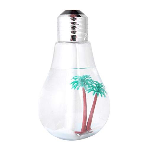 Morran Luftbefeuchter aroma diffuser raumduft duftlampe humidifier USB Home Office Mute LED-Ausrüstung Bunter Luftbefeuchter 400ML (B)