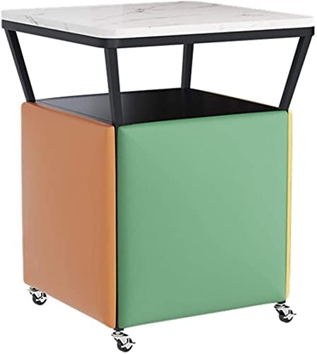 KJHGK 5 en 1 Taburete apilable Cube Taburete Combinación de