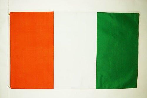 AZ FLAG Drapeau Côte D'Ivoire 150x90cm - Drapeau ivoirien 90 x 150 cm - Drapeaux
