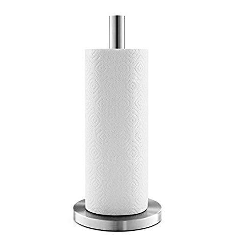 ZACK 20705 Cuna Küchenpapierhalter, Edelstahl matt