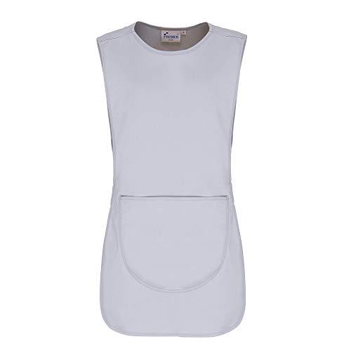 Premier Damen Arbeitsschürze mit Tasche (2 Stück/Packung) (Medium) (Silber)