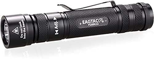 Torcia EagleTac P200LC2 UV Ultravioletti 365 nm Torcia professionale Kit