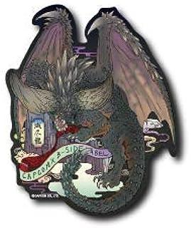 B-SIDE LABEL× Monster Hunter World Nergigante Vinyl Sticker MHW Ukiyoe Capcom