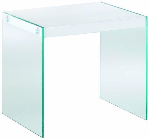 HAKU Möbel 87395 Beistelltisch 40 x 35 x 35 cm, weiß