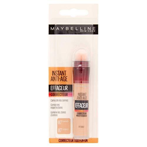 Maybelline New York – Anti-occhiaie/correttore liquido – Instant Anti-Age – 07 Sabbia – 6,8 ml