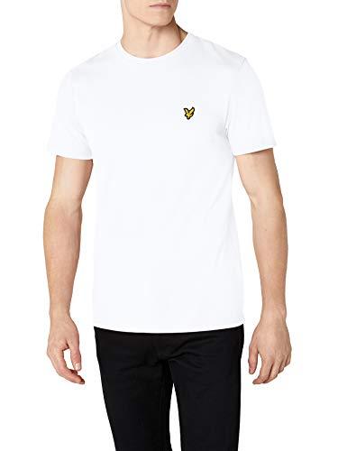 Lyle & Scott Herren Crew Neck T-Shirt, Weiß (White 626), Medium