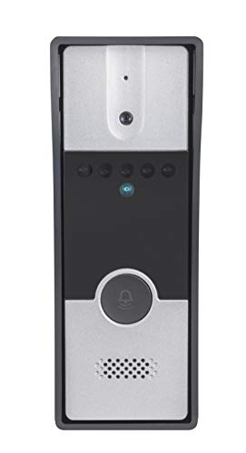 Hikvision VDP DS-KIS202 7-inch Upgraded Video Door Phone (Grey/White)