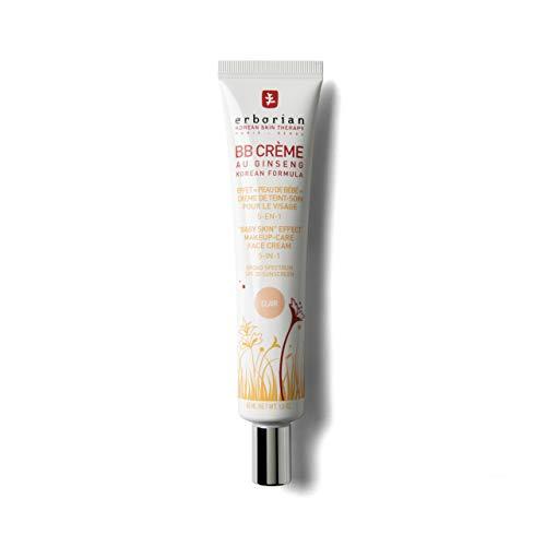 Erborian BB Creme Au Ginseng 5-In-1 Total Sheer Make-Up-Care Cream SPF20 / PA++ Clair, 1.5oz, 45ml