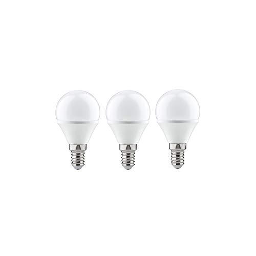 Paulmann 284.27 LED 3er-Pack Tropfen 4W E14 230V Warmweiß 28427 Leuchtmittel Lampe