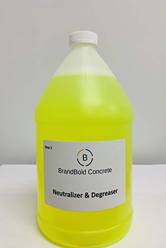 BrandBold Brilliance Concrete Acid Stain Neutralizer and Degreaser - STEP 3
