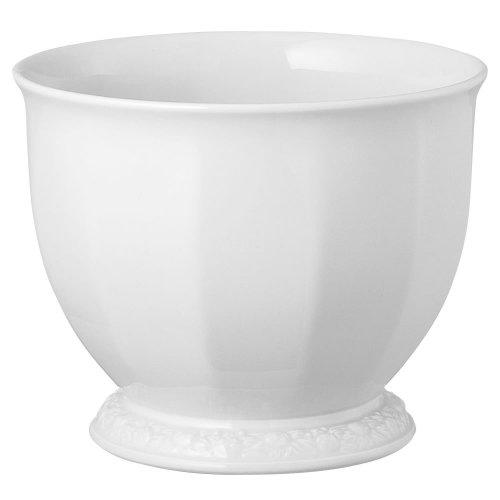 Rosenthal 10430-800001-27317 Maria Blumenübertopf 3, 14 cm, Ø 17.5 cm, weiß