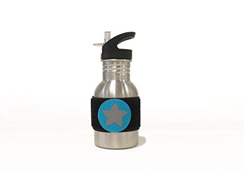 Do dottybottle schadstofffreie Acero Inoxidable Botella (350ml) con velcro diseño estrella para...