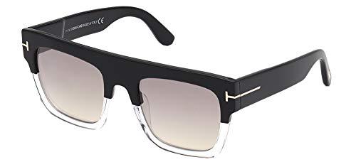 Tom Ford Gafas de Sol RENEE FT 0847 Black Crystal/Smoke 52/21/140 mujer