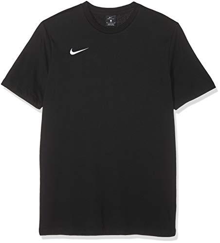 Nike Tee Tm Club19 SS, Maglietta Sportiva A Maniche Corte Uomo, Nero (Black/White), M