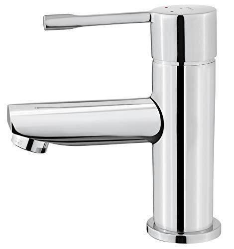 Strohm Teka Grifo lavabo ALAIOR. Grifo monomando de lavabo con diseño minimalista, cartucho cerámico y aireador anti-cal.