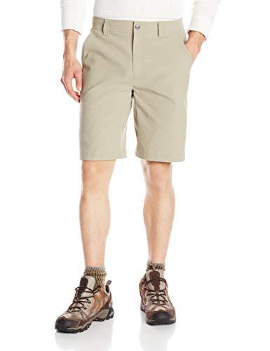 Columbia Herren Sportswear Royce Peak Shorts, Herren, Tusk, 32x10-Inch
