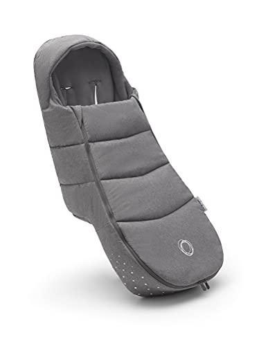 Saco de Silla Bugaboo, accesorio imprescindible para el carrito, impermeable y para todas las estaciones, calentito y transpirable en Grey Melange