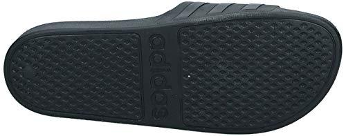 Adidas Unisex Adilette Aqua F35550 Slide Sandal, Core Black/Core Black/Core Black, 10 UK