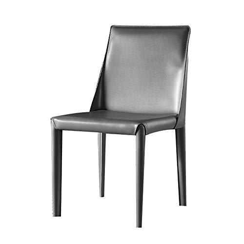 Dining chair Einfacher moderner Esszimmerstuhl Home Desk Stuhl Europäischer Coffeeshop Stuhl Hotel Lounge Stuhl 53 * 45 * 81cm