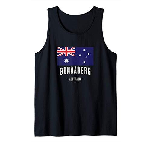 Stadt von BUNDABERG Australien | AU - Australische Flagge - Tank Top