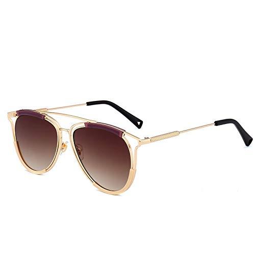 GYYY Lunettes de soleil style aviateur tendance rétro