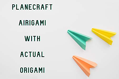 Planecraft Airigami With Actual Origami (English Edition)