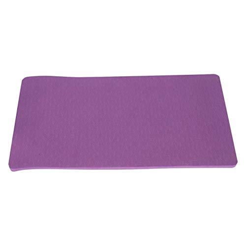 FOLOSAFENAR Cojín de Fitness Cojín de Yoga EVA ecológico Ligero, para Actividades al Aire Libre(Dark Purple)
