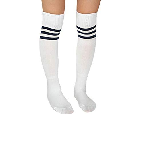 teng hong hui Frauen der Männer weiche Socken Fußball Baseball-Fußball-Frauen weiche Socken über Knie