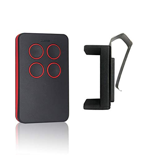 Universal Garage Door Opener Remote with Intellicode Security Technology,Control Up to 4 Garage Door Remote-Compatible with All Kinds Garage Door Openers?Red?