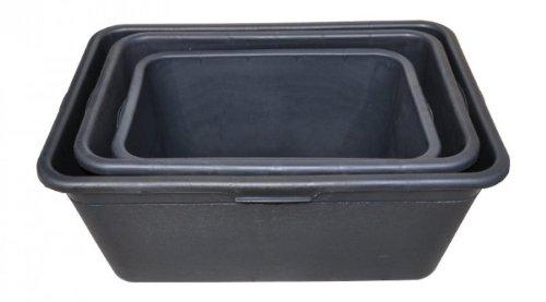 1a-Handelsagentur Mörtelkasten 90 65 oder 40 Liter schwarz, Größe:90 Liter
